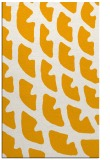 rug #664665 |  light-orange abstract rug