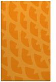 rug #664673    light-orange abstract rug