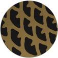 rug #664701 | round brown rug