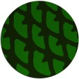 rug #664749 | round green abstract rug