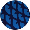 rug #664849 | round blue abstract rug