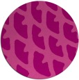 rug #664889 | round pink abstract rug