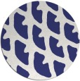 rug #664962 | round abstract rug