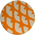 rug #664997   round beige abstract rug