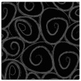 rug #667153 | square black circles rug