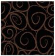 rug #667161 | square brown circles rug