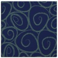 rug #667177 | square blue-green popular rug