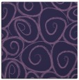 rug #667241 | square purple circles rug