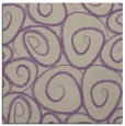 rug #667325 | square purple natural rug