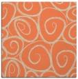 rug #667341   square orange circles rug