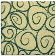 rug #667349 | square blue-green popular rug