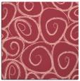rug #667361 | square pink circles rug