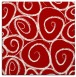 rug #667385 | square red circles rug