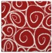 rug #667393   square red circles rug