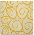 rug #667433   square yellow circles rug