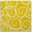 rug #667445   square yellow circles rug