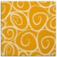 rug #667481 | square light-orange circles rug