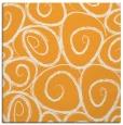 rug #667493 | square light-orange circles rug