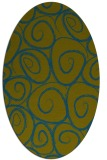rug #667558 | oval circles rug