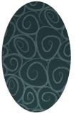 rug #667570 | oval circles rug