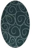 rug #667572   oval circles rug