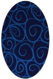 rug #667666 | oval circles rug