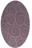 rug #667735   oval circles rug