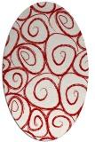rug #667738 | oval circles rug