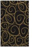 rug #667869 |  brown circles rug