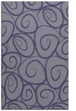 rug #667937    blue-violet rug