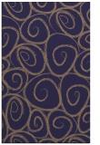 rug #667957 |  blue-violet rug