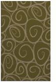 rug #667969 |  mid-brown circles rug