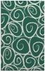 rug #667981 |  green natural rug