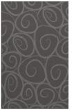 rug #667997 |  brown circles rug