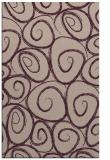 rug #668005 |  pink circles rug