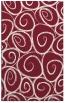 rug #668061 |  pink circles rug