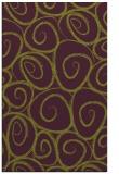 rug #668077 |  green circles rug