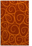 rug #668105 |  red-orange natural rug