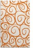 rug #668117 |  red-orange circles rug