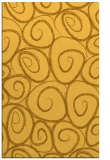 rug #668153 |  yellow circles rug