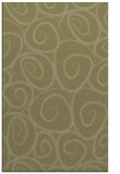 rug #668173 |  light-green natural rug