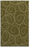 rug #668181 |  light-green circles rug