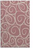 rug #668189 |  pink circles rug