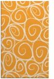 rug #668197 |  light-orange natural rug