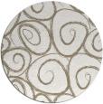 rug #668201 | round white circles rug