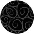 rug #668209   round black circles rug