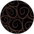 rug #668217 | round black circles rug