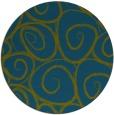 rug #668261 | round green circles rug