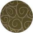 rug #668321 | round mid-brown natural rug