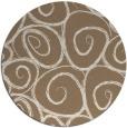 rug #668353 | round beige circles rug